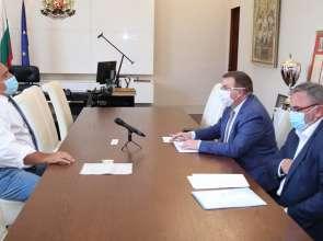 Костадин Ангелов се срещна с Бойко Борисов