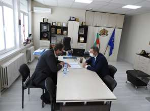 """Областният управител се срещна с изпълнителния директор на """"Български ВиК холдинг"""" ЕАД"""